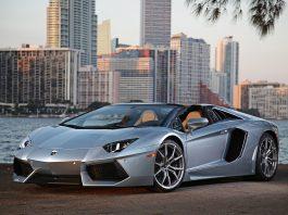 Photo Of The Day: 2014 Lamborghini Aventador Roadster in Miami
