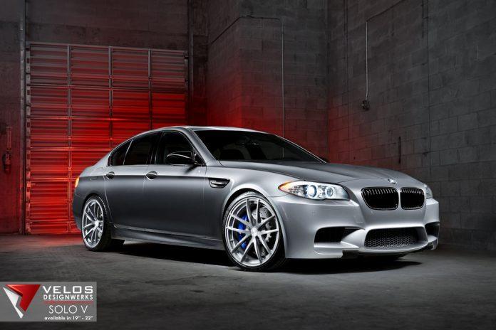 Grey BMW F10 M5 by Velos Designwerks