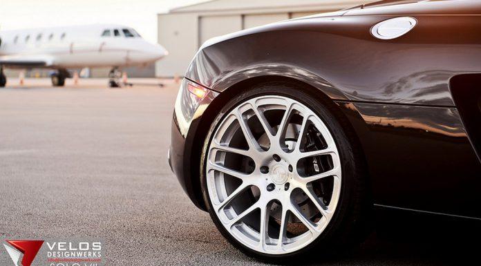 Black Audi R8 V8 Spyder by Velos Designwerks
