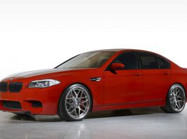 Imola red BMW F10 M5 by iND