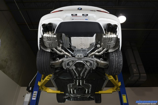 Video: Hear the Sounds of a BMW F12 M6 With an Eisenmann Exhaust