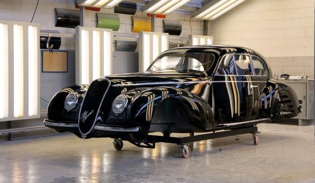 2013 Salon Retromobile Alfa Romeo 6C 2500