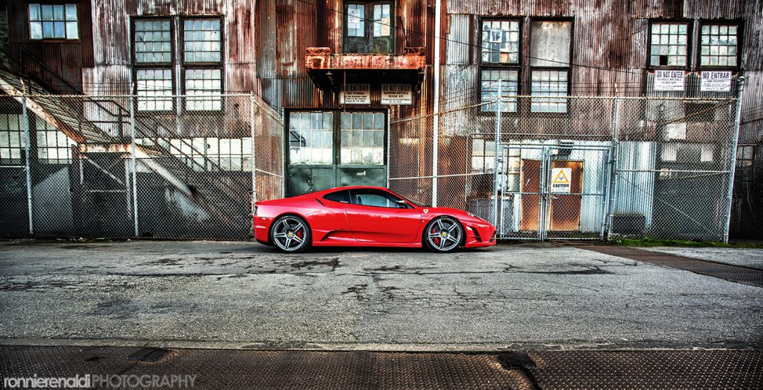 Photo Of The Day: Ferrari 430 Scuderia Shot by Ronnie Renaldi