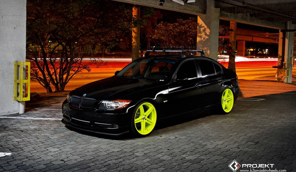 2007 BMW 328i Delivery car by K3 Projekt