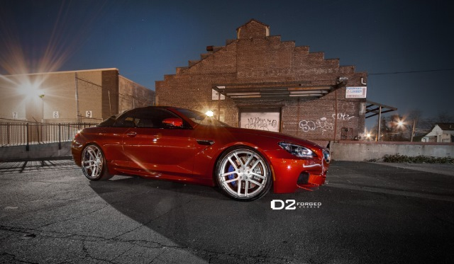 BMW F13 M6 with CV8 D2 Forged Wheels