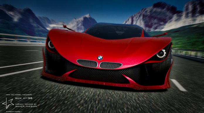 BMW MT-58 Concept Design by Maher Thebian