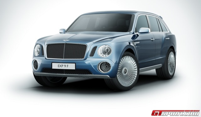 Bentley Falcon Confirmed for Production