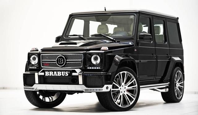Brabus 800 Widestar debuts at 2013 Qatar Motor Show