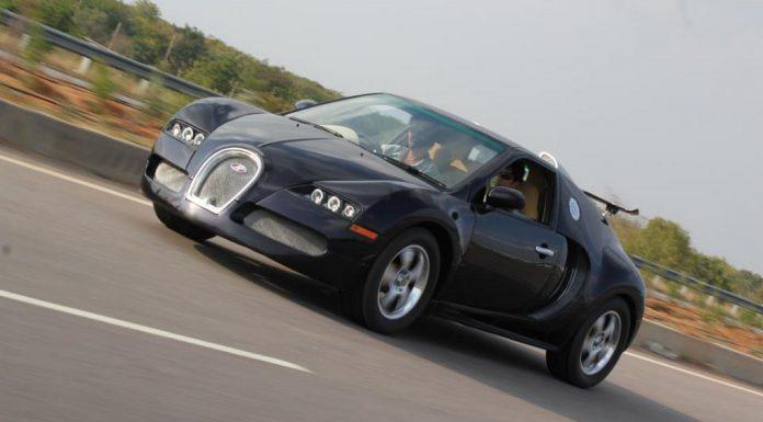Overkill: Bugatti Veyron Replica Based on Suzuki Esteem