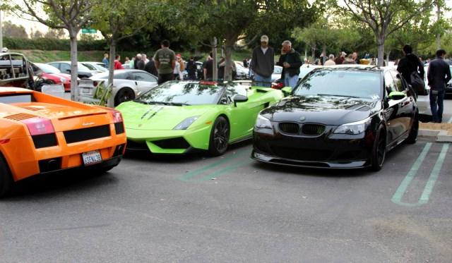 Cars and Coffee Irvine 2nd Feb 2013