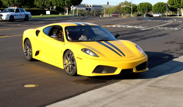 Cars and Coffee Irvine Ferrari F430