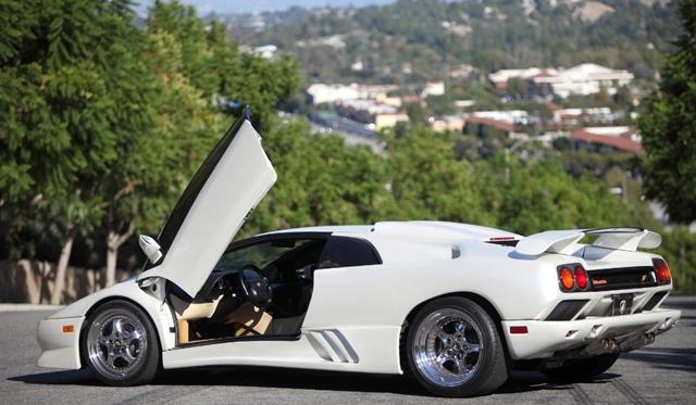 Video: Lamborghini Diablo GT Monterey Edition Running through the Canyons