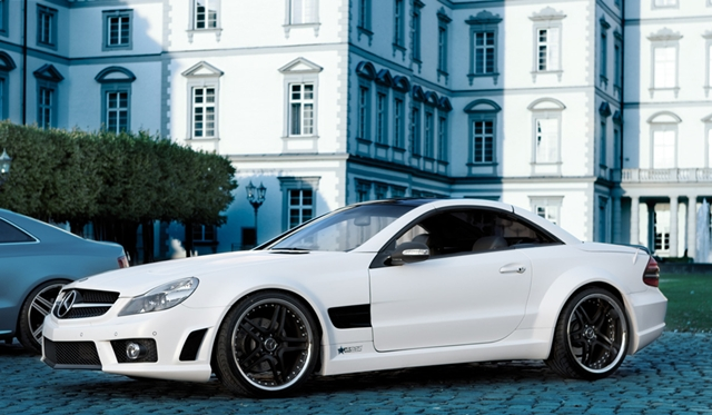Official: Mercedes-Benz SL 500 by Famous Parts