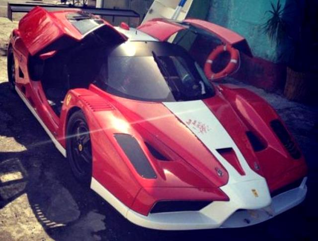 Fast and Furious 6 Ferrari FXX Replica