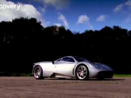 Fifth Gear Test the Pagani Huarya