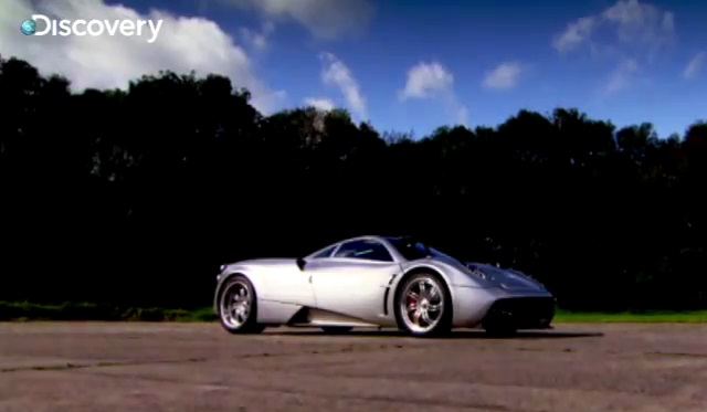Fifth Gear Test the Pagani Huarya