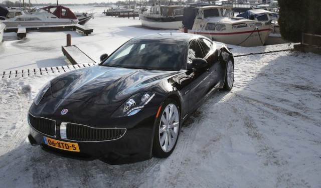 Fisker Karma Dutch Edition