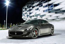Four-Seat Maserati GranTurismo MC Stradale