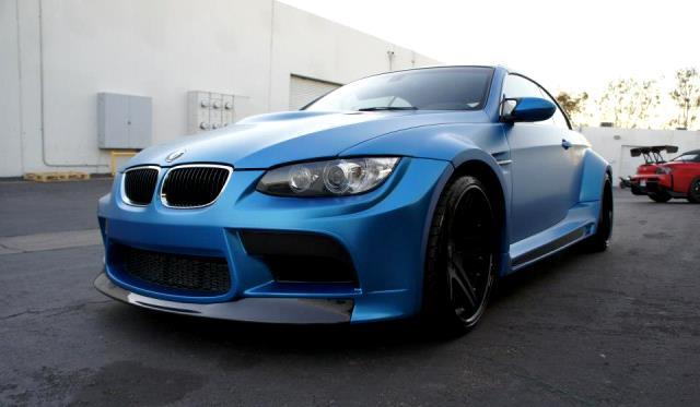 Frozen Blue Vorsteiner BMW E93 M3 by The R's Tuning