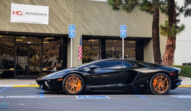 HG Motorsports Lamborghini Aventador