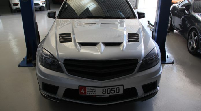 Official: Mercedes-Benz C63 AMG with SLS Mods by PP-Performance