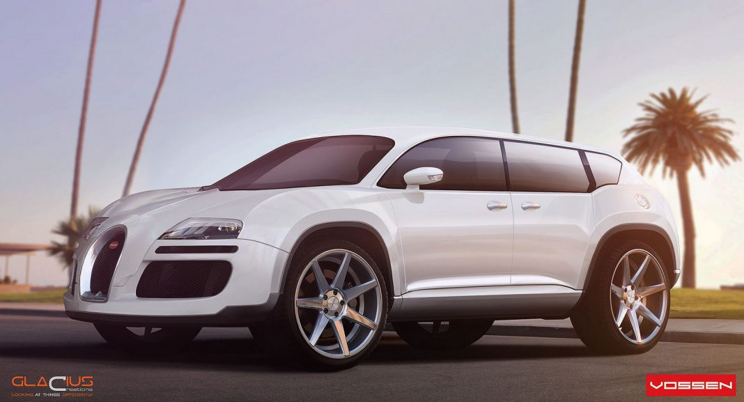 Render Bugatti Veyron SUV by Glacius Creations