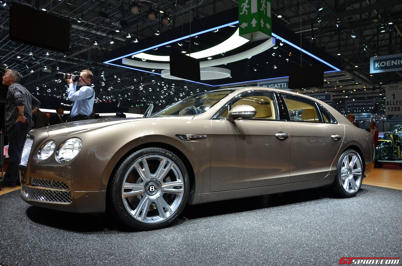 new flying car release dateGeneva 2013 Bentley Flying Spur  GTspirit