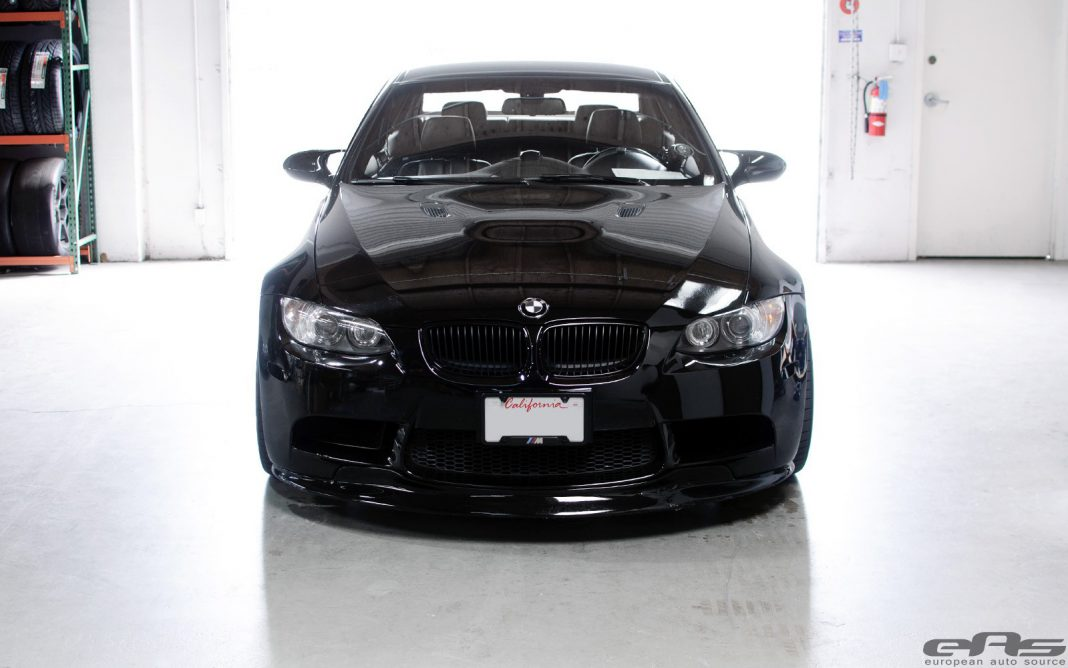 Jet Black BMW E92 M3 with ESS VT2-585 Supercharger
