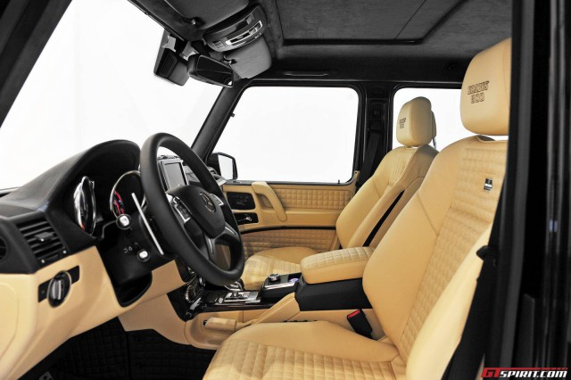 Brabus G800 Interior