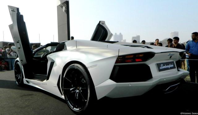 Lamborghini Aventador Roadster at Parx Motor Show