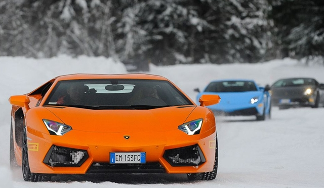 Gallery: Lamborghini Winter Academy 2013