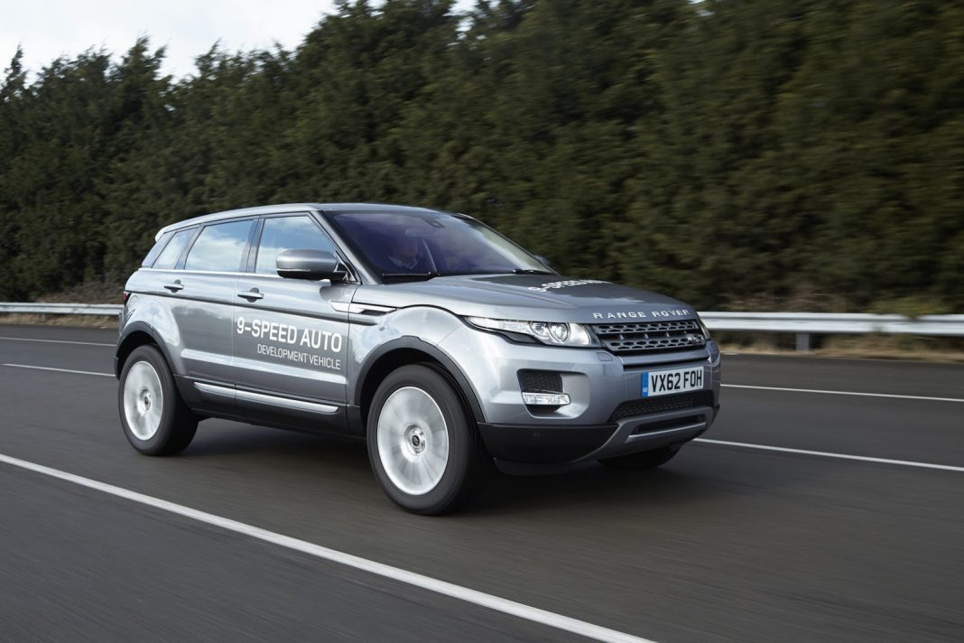 Land Rover to Debut 9 Speed ZF Automatic Transmission in Geneva