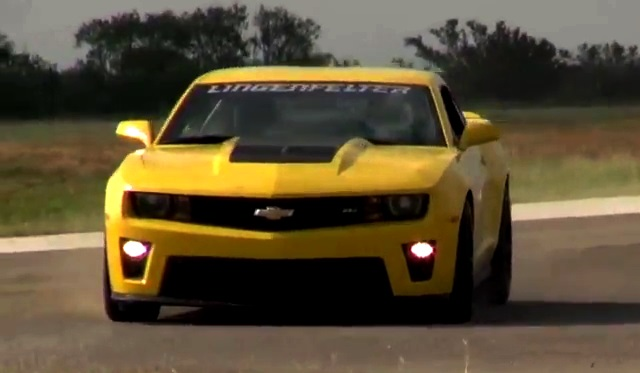 Lingenfelter Performance Engineering ZL1 Camaro Hits 202mph