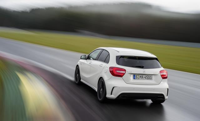 Mercedes Benz A 45 AMG Rear