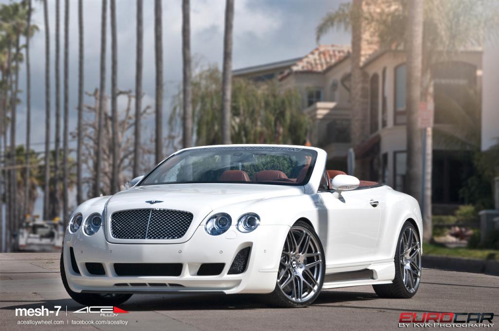 Bentley Continental GTC by Vorsteiner on ACE Mesh Wheels