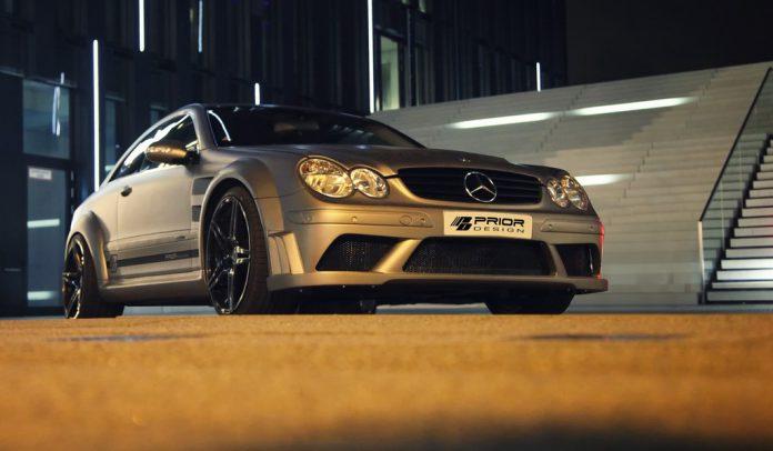Widebody Mercedes-Benz CLK W209 by Prior Design