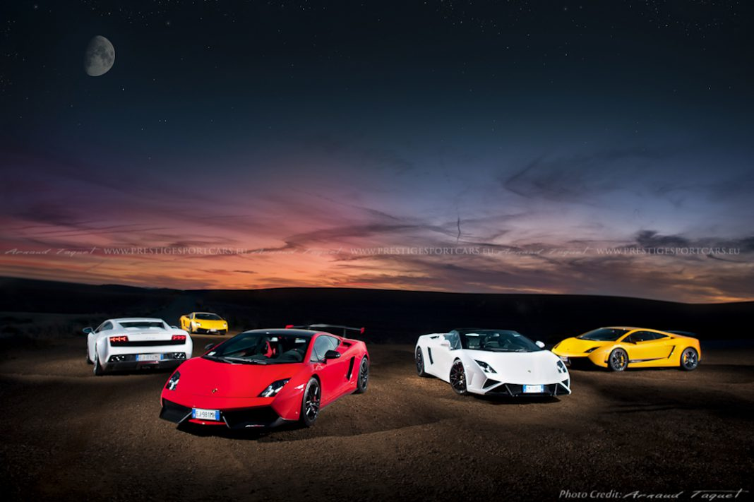 Supercars Photoshoot by Arnaud Taquet Part 1
