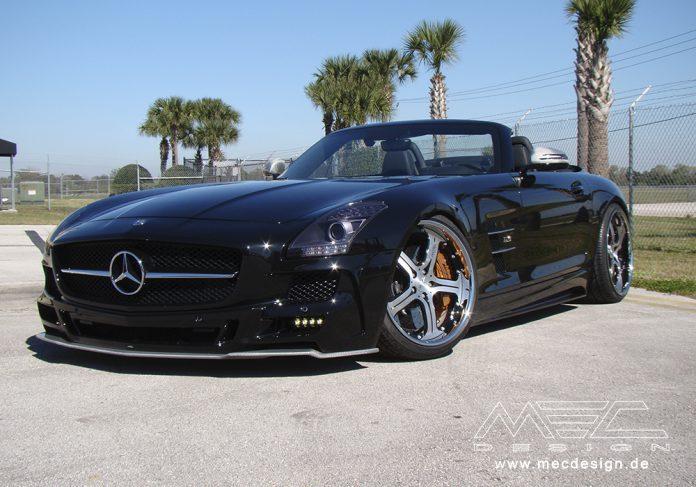 MEC Design Tackles Mercedes-Benz SLS AMG Roadster