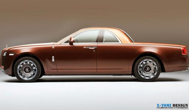 Render Rolls Royce Ghost Pick UP by X-Tomi Design