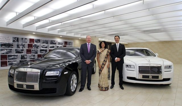 As a part of an expansion program, luxury car manufacturer Rolls-Royce ...