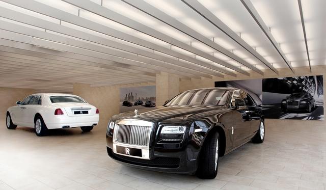 Rolls-Royce Opens Third Showroom in India