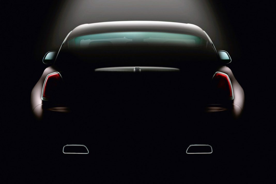 Rolls-Royce Releases Latest Wraith Teaser Ahead of Geneva