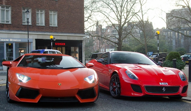 Gallery: Supercars in London by Willem Verstraten Photography