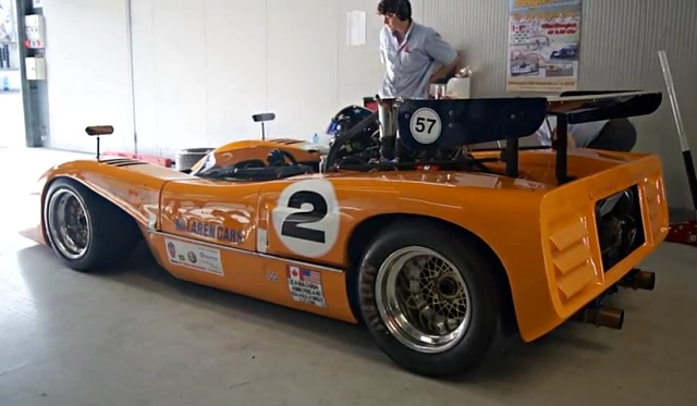 The Sound of a McLaren M8C