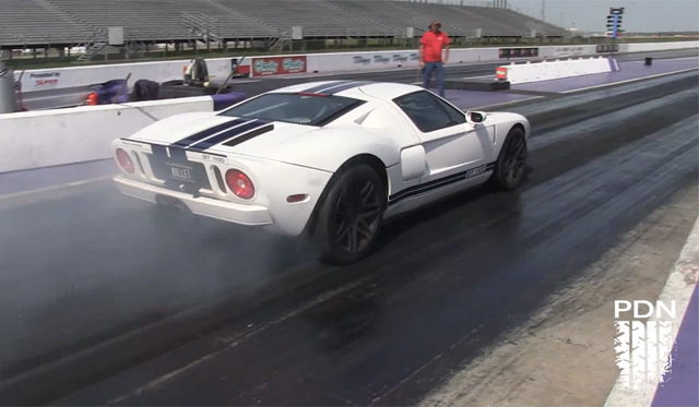 Video: Twin-Turbo Ford GT Completes Quater Mile in 9.72 Seconds