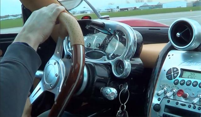 Video: Ride in a Pagani Zonda F