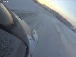 Video: Snow Drifting Nissan GT-R With Samuel Hubinette