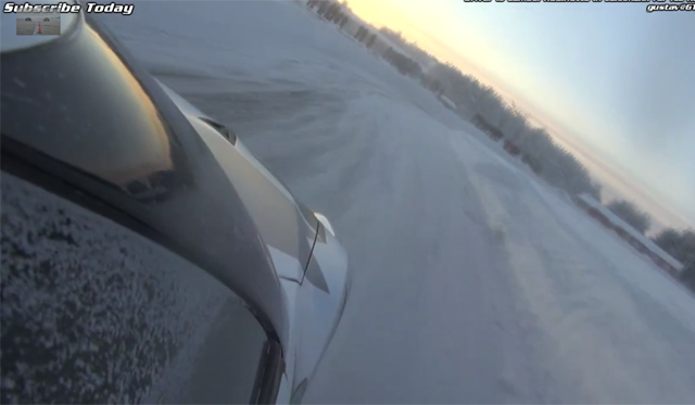 Video: Snow Drifting Nissan GT-R With Samuel Hubinette