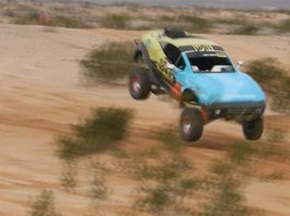 Video: Rally Fighter Rolls Before Continuing Arizona Race