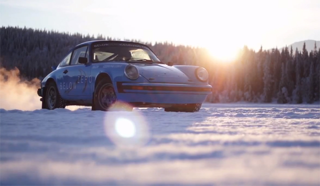 Video: Ice Driving Porsche 911 With Chris Harris